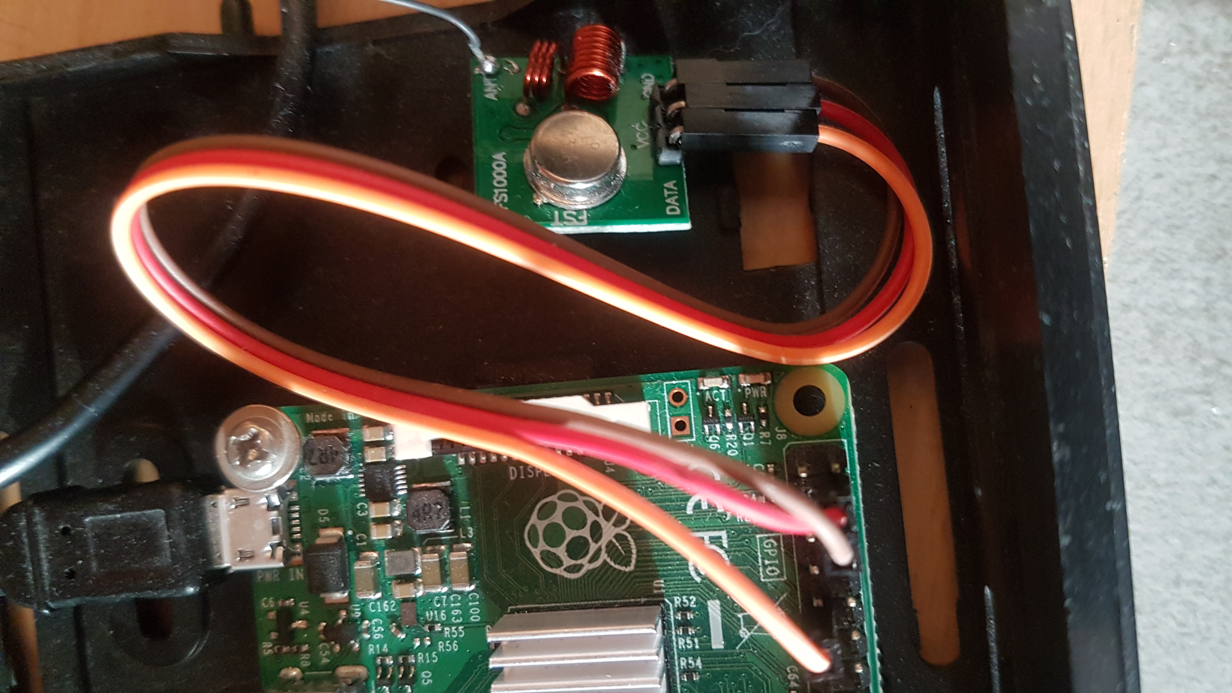 Raspberry Pi mit Funkmodul